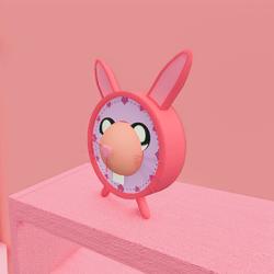 Kawaii Bunny Alarm Clock