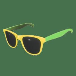 Sunglasses Yellow Green - Male
