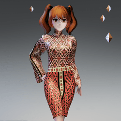 Batist Dress for MD avatar by Acpixl
