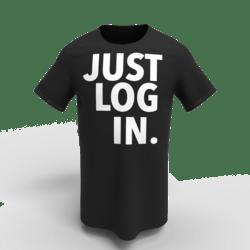 T-Shirt JustLogIn X unisex