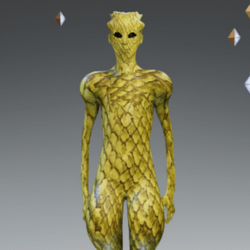 Yellow Alien