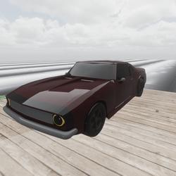 Camaro- Maroon