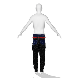 Sagging Male Jeans 001_002 DEMO