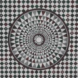 Italian Mosaic Floor /Colored
