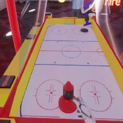 Fire Goats Air Hockey