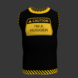 Funny Caution Shirt (Male)