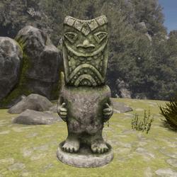 TKA SH Tiki Statue Stone