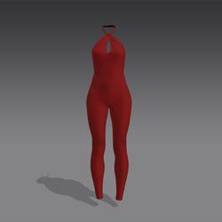 Valentina Bodysuit - Red (MsAquaria)