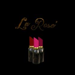 La Rose' Lipstick Trio