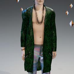Green Matrix Dreamers Cloak