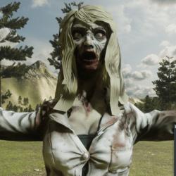 Zombie Girl NPC (FROM MIXAMO)