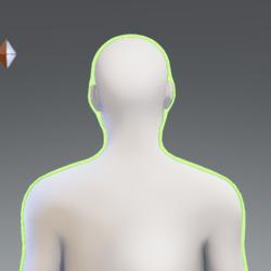 Green Glowing Aura M