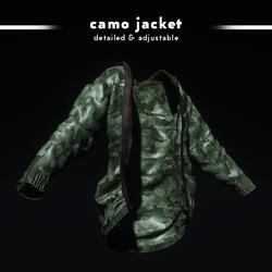 Camouflage Jacket (Original)