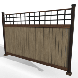 Windsor Fence System (Corner) [2/3]
