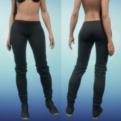 Leather Pants - Blk
