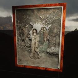 Edmund Dulac The Garden of Paradise  Fairy of the Garden
