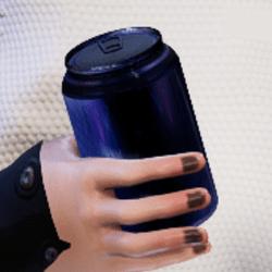 Bottle E in arm
