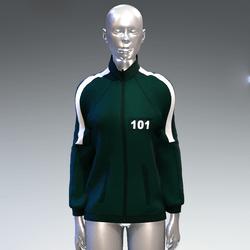 """Squid game"" style sweat jacket female 101"