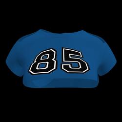 Sexy 85 Crop Top (Blue)