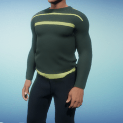 Shirt for man green color