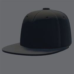 DemiGod Cap Black [MALE]