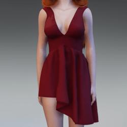 SephoniDress - Red
