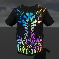 Empowered Demon (M) T-Shirt (Emissive Animated)