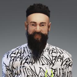 Long Beard (BLACK)