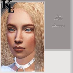 Alina blue eyes replacement-promo free