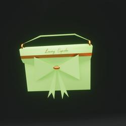 Luxury Cupcake Purse (Lime)