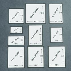 TKA Set of floating frames