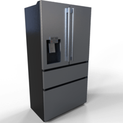 French Door Refrigerator - Stainless