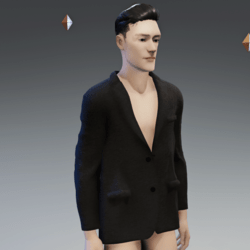 Men's Suit Jacket grey