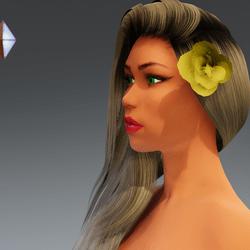 Rose for Hair #5