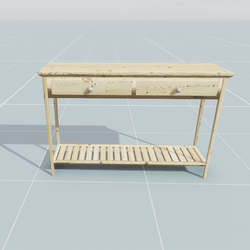 Wooden Server Table