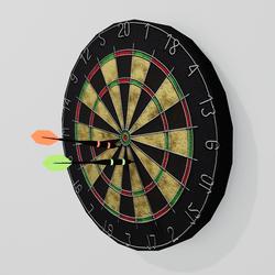 Working Dartboard with Darts