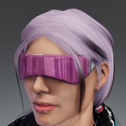 Saiborgu glasses - vint pink