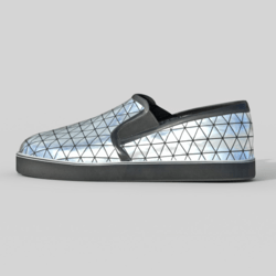 Slip-On Shoes Silver Female