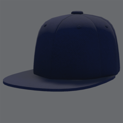DemiGod Cap Blue [MALE]