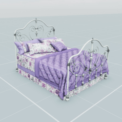 Antique Bed 1.4