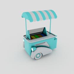 Ice Cream Holder Machine