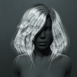 Kelsey Hair - Gray (Demo)