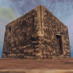 Squarish building