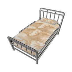 Hospital Bed with disrty matress