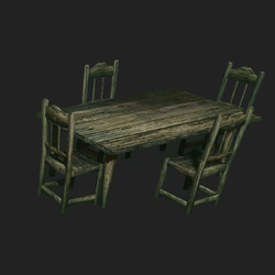Old Ranch Table Set