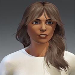Hair Sandy (Blonde 1)