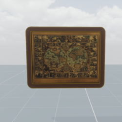 Ancient world map 2
