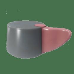 Pink-handled Knob