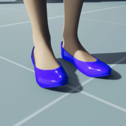 Stylish Classic High Heel Shoes BLUE