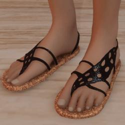 Sandals_Flip_flops_with_Leaf